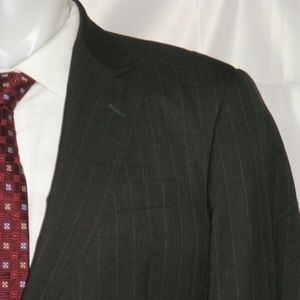 Giorgio Armani Black Label Silk Blend Suit 42L